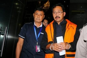 KPK Periksa Aset Nurdin Basirun di Kepri