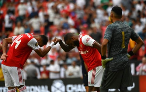 Arsenal Hajar Madrid di Babak Pertama