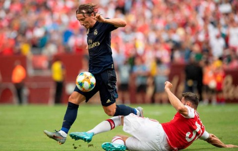 Madrid Bungkam Arsenal Lewat Adu Penalti