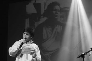 Doa Joe Taslim, Chandra Liow, dan Tatjana Saphira untuk Jefri Nichol