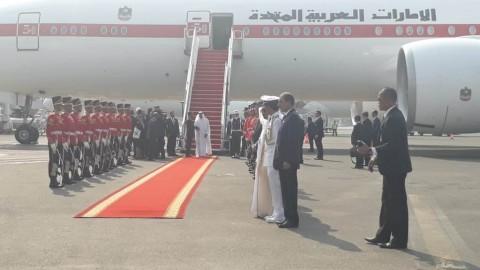 Presiden Jemput Pangeran Abu Dhabi di Soekarno-Hatta