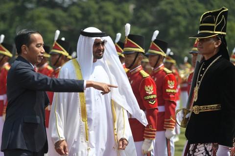 Putra Mahkota Abu Dhabi Kunjungi Istana Bogor