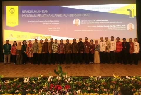 UT dan UI Kerja Sama Pendidikan Vokasi Jarak Jauh Bersertifikat