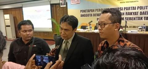 Caleg Partai Baru Tak Kebagian Kursi DPRD Kota Yogyakarta