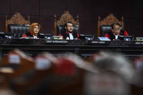 Hakim MK Mencecar Saksi PKS yang Mempersoalkan DPK