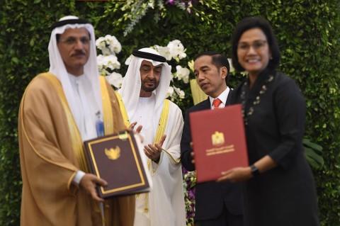 Jokowi Bertemu Putra Mahkota UEA, RI Tawarkan 21 Proyek
