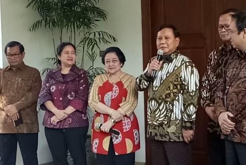 Prabowo Ingin Melanjutkan Persaudaraan dengan Megawati