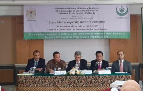Palestina Promosikan Produk ke Pengusaha Indonesia