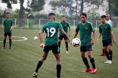 Timnas Indonesia U-15 Bertolak ke Thailand