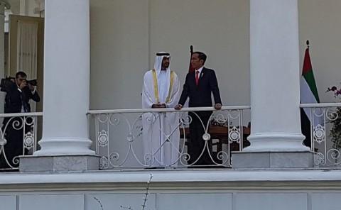 Kedatangan Pangeran Abu Dhabi Bersejarah