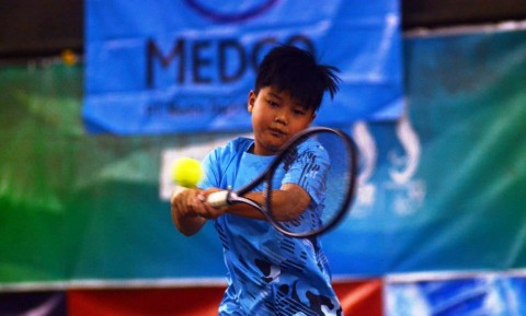 Kejurnas Tenis Junior Panaskan Palembang