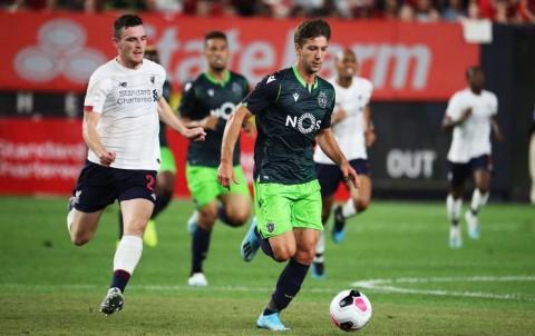 Sempat Tertinggal, Liverpool Ungguli Sporting di Paruh Pertama