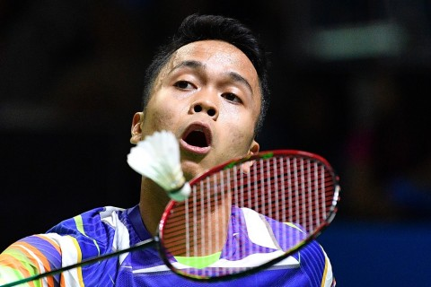 Japan Open 2019: Anthony Ginting Jumpa Momota di Perempat Final