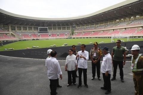 Menpora Berharap Masalah Stadion Papua Bangkit Segera Tuntas