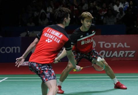 Japan Open 2019: Tekuk Tuan Rumah, Marcus/Kevin Melaju Perempat Final