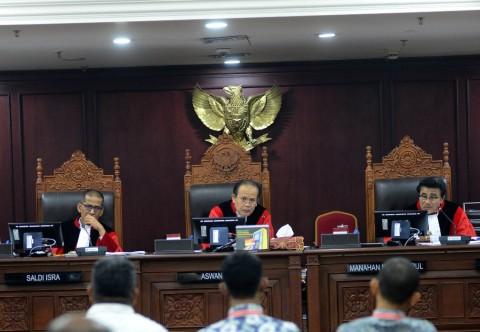 Bawaslu Dilarang Terbitkan Putusan Perkara yang Ditangani MK