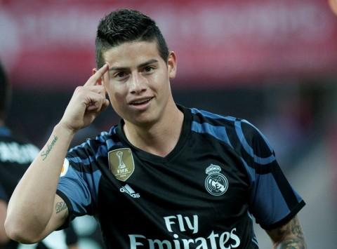 Atletico Saingi Napoli untuk James Rodriguez