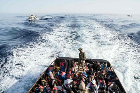 Kapal Tenggelam, 150 Imigran Hilang di Laut Libya