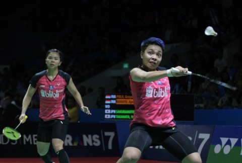 Japan Open 2019: Tersingkir, Greysia/Apriyani: Langkah Kami Berat