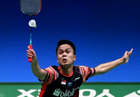 Japan Open 2019: Anthony Sinisuka Ginting Dikalahkan Kento Momota