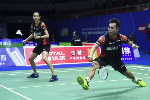 Japan Open 2019: Komentar Hafiz/Gloria Usai Singkirkan Ganda Campuran Nomor Satu Dunia