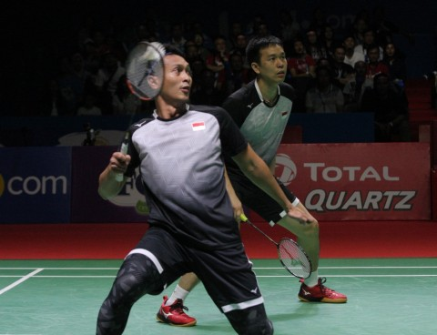 Japan Open 2019: Ahsan/Hendra Lolos ke Semifinal