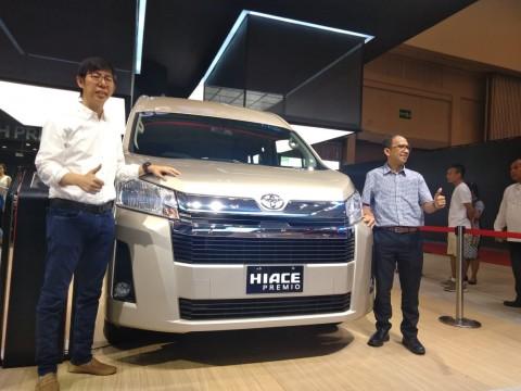 Toyota Antisipasi Pertumbuhan Kendaraan Komersial dengan HiAce Premio