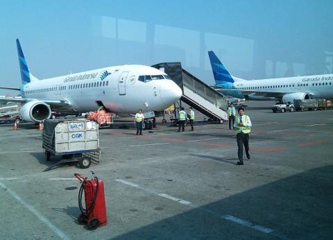 Kenaikan Tarif Tiket Pesawat Dorong Kas Garuda Untung
