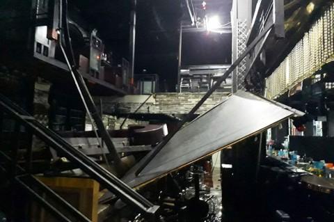 Balkon Kelab Malam di Korsel Runtuh, Dua Orang Tewas