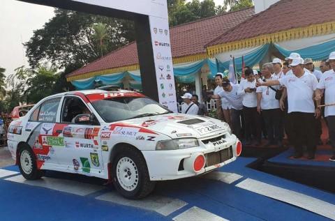 Asia Pacific Rally Championship Medan, Dibuka Edy Rahmayadi
