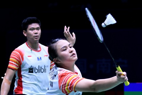Japan Open 2019: Praveen/Melati Singkirkan Hafiz/Gloria di Semifinal