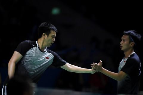 Japan Open 2019: Tekuk Kamura/Sonoda, Ahsan/Hendra Melenggang ke Final