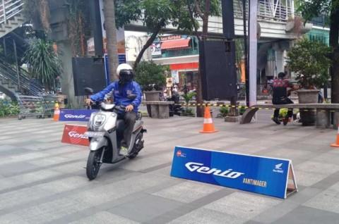 Masih Inden di Jakarta, Honda Genio Malah Mengaspal di Bandung