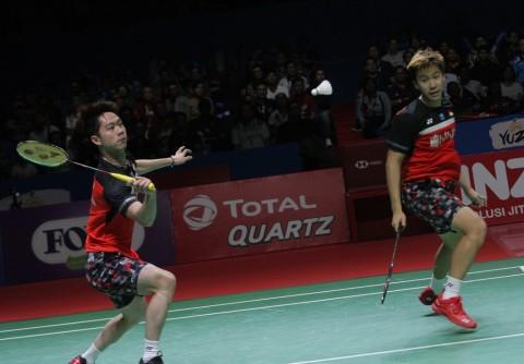 Japan Open 2019: Marcus/Kevin Tantang Ahsan/Hendra di Final
