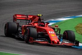 Charles Leclerc Pimpin FP 3 F1GP Jerman