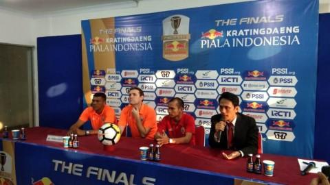 Riko Berharap Wasit Jeli Kawal Final Piala Indonesia