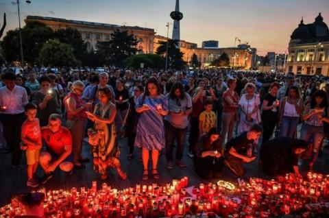 Kasus Penculikan Remaja di Rumania Picu Protes Massa