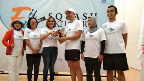 Garuda Indonesia Dukung Pengembangan Potensi Atlet Squash DKI Jakarta