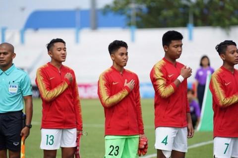 Jadwal Siaran Langsung Timnas Indonesia U-15 vs Singapura U-15