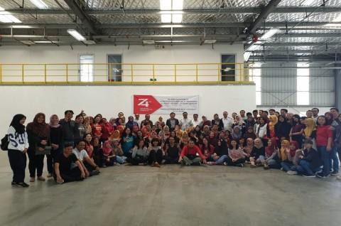 Gema HUT ke-74 RI Getarkan Pabrik Indonesia di Ethiopia