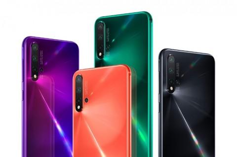 Huawei Jual 2 Juta Unit Nova 5 dalam Satu Bulan
