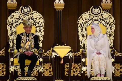 Sultan Pahang Resmi Dinobatkan Jadi Raja Baru Malaysia