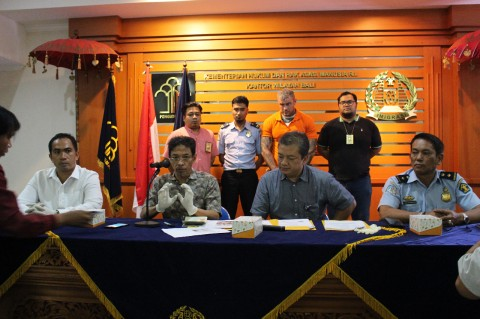 Buronan Polisi Inggris Ditangkap di Bali
