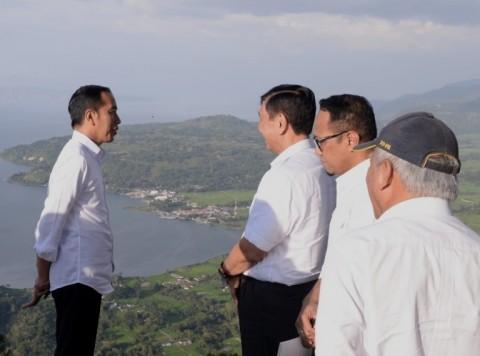 Jokowi Inspects Tourist Sites in North Sumatra
