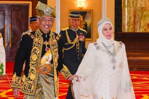 Sultan Abdullah Resmi Didaulat Sebagai Raja Baru Malaysia