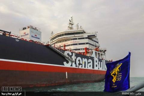 Iran Rilis Video Perampasan Tanker Minyak Inggris