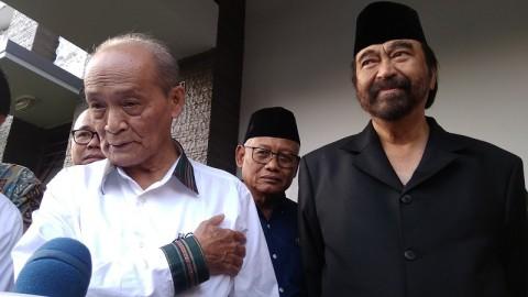 Surya Paloh Jenguk Buya Syafii
