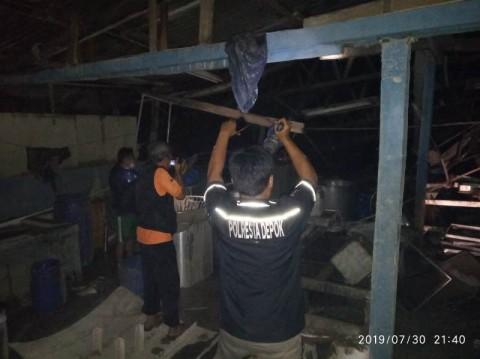 Tungku Masak Pabrik Tahu di Depok Meledak