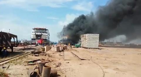 Penyebab Kebakaran KMP Sembilang Diselidiki