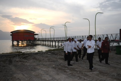 Presiden Ingin Pengembangan Danau Toba Dilakukan Paralel